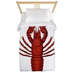 Crawfish Twin Duvet