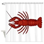 Crawfish Shower Curtain