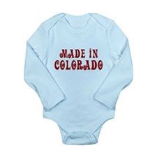 Made In Colorado Long Sleeve Infant Bodysuit