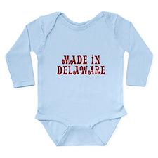 Made In Delaware Long Sleeve Infant Bodysuit