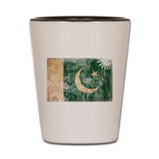 Pakistan Flag Shot Glass