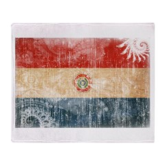 Paraguay Flag Throw Blanket