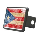 Puerto Rico Flag Rectangular Hitch Cover