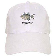 Triggerfish with script Baseball Cap