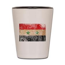 Syria Flag Shot Glass