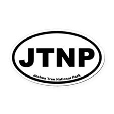 Joshua Tree National Park Oval Car Magnet