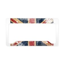 United Kingdom Flag License Plate Holder