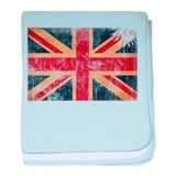 United Kingdom Flag baby blanket