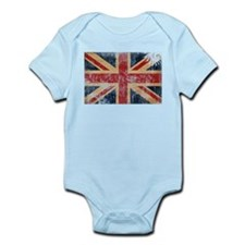 United Kingdom Flag Infant Bodysuit