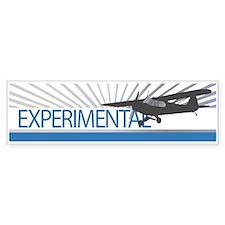 Aircraft Experimental Bumper Sticker