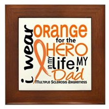 Hero In Life 2 MS Framed Tile
