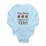 Personalized Grammy's Girl Baby Outfits