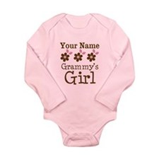 Personalized Grammy's Girl Onesie Romper Suit