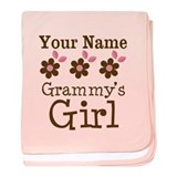 Personalized Grammy's Girl baby blanket