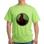 Muffed Tumbler Circle Green T-Shirt