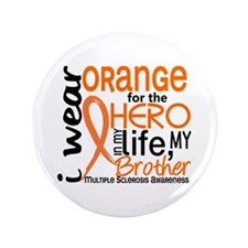 "Hero In Life 2 MS 3.5"" Button (100 pack)"