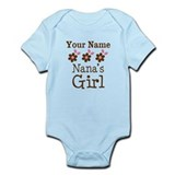 Personalized Nana's Girl  Baby Onesie