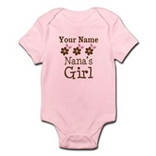 Personalized Nana's Girl Infant Bodysuit