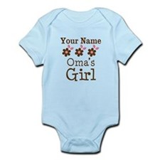 Personalized Oma's Girl Onesie