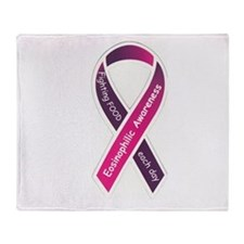 Eosinophilic Disease Awareness Throw Blanket