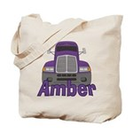 Trucker Amber Tote Bag