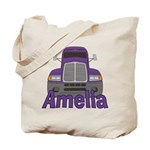 Trucker Amelia Tote Bag
