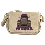 Trucker Amelia Messenger Bag