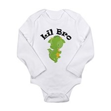 Lil Bro Dragon Long Sleeve Infant Bodysuit