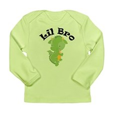 Lil Bro Dragon Long Sleeve Infant T-Shirt