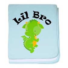 Lil Bro Dragon baby blanket