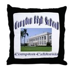 comptonhigh.png Throw Pillow