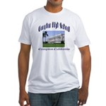comptonhigh.png Fitted T-Shirt