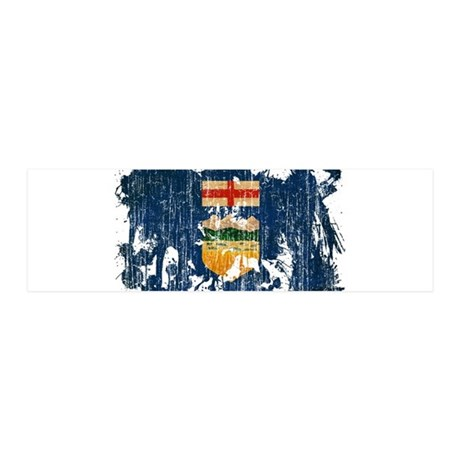 Alberta Flag 42x14 Wall Peel