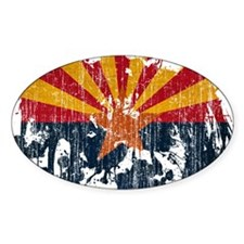 Arizona Flag Decal