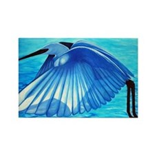 Snowy Egret Rectangle Magnet.jpg Rectangle Magnet