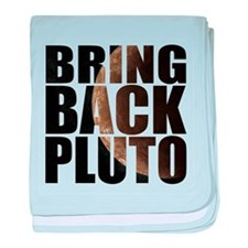 Bring back pluto baby blanket