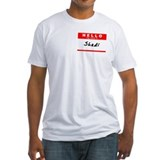 Shadi, Name Tag Sticker Shirt