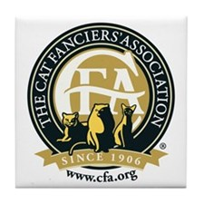 CFA Logo Tile Coaster