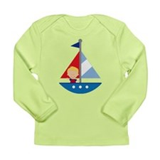 Sailboat Future Sailor Long Sleeve Infant T-Shirt