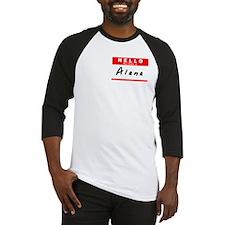 Alana, Name Tag Sticker Baseball Jersey