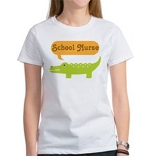 School Nurse Alligator Tee