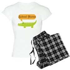 School Nurse Alligator Pajamas