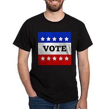 Vote, Super Block Star T-Shirt