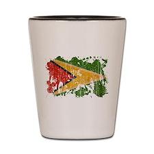 Guyana Flag Shot Glass