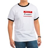 Freddie, Name Tag Sticker T