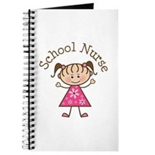 School Nurse Stick Figure Journal