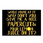 Lemon Juice Princess Bride Postcards (Package of 8