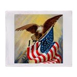 1776 SPIRIT OF.jpg Throw Blanket