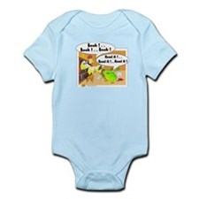 chicken and frog Infant Bodysuit