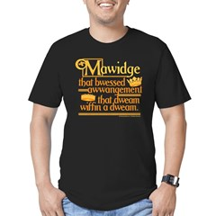 Princess Bride Mawidge Speech Men's Fitted T-Shirt